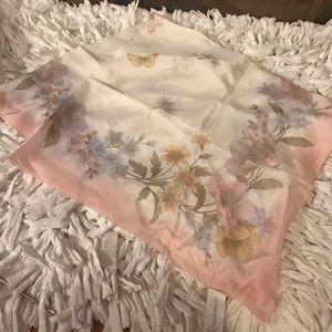 Liz Claiborne silk scarf, brand new